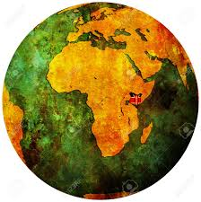 Kenya Map Africa by Kenya Territory With Flag On Map Of Globe Stock Photo Picture And