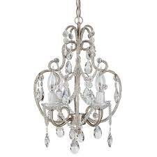 Upside Down Crystal Chandelier House Of Hampton Alida 4 Light Crystal Chandelier With Hooks