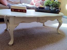 coffee table farmhouse antique end table distressed white side