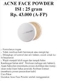 Bedak Tabur Wardah Anti Acne wardah acne powder daftar harga terkini dan terlengkap indonesia