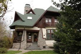 Gabled Dormer Moscow Gable Dormer Exterior Farmhouse With Brown Siding