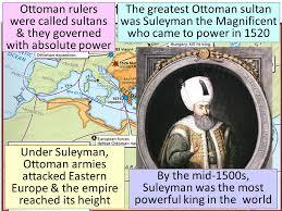 Ottoman Ruler Essential Question What Were The Achievements Of The Gunpowder