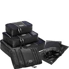 Texas travel cubes images Ebags value set packing cubes pack it flat shoe sleeves