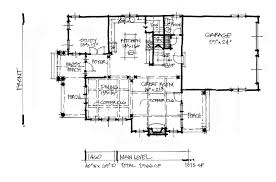 Garage House Floor Plans Conceptual House Plan 1460 Rear Entry Garage Houseplansblog