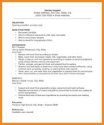 Food Prep Resume Example by Cook Resume Line Cook Resume Cook Sample Resume Cover Letter