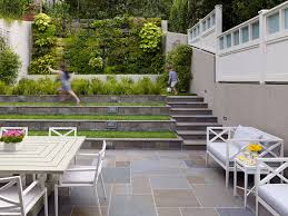 modern patio decoration modern patio with green lawn terrace design and white