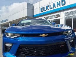 Blue Ash Color by 2016 Hyper Blue Metallic Chevrolet Camaro Ss Coupe 110622834
