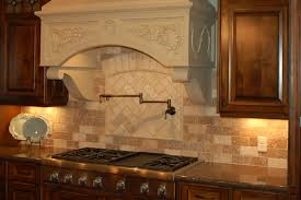 kitchen backsplash travertine tile best tile patterns for kitchen backsplash with brick stacked
