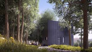 forest house on behance architecture visualization render