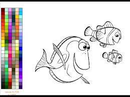 finding nemo coloring pages kids finding nemo coloring pages