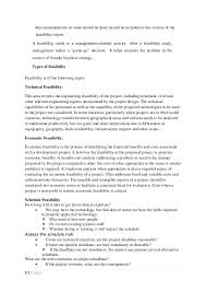 technical feasibility report template project planning and feasibility study