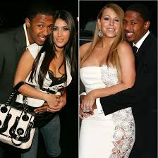 nick cannon kim kardashian mariah carey tattoo photo shared by