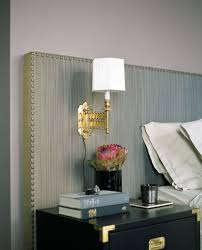 accordion sconce contemporary bedroom curated