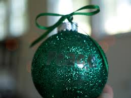 diy personalized glitter ornaments u2013 christmasornaments com blog