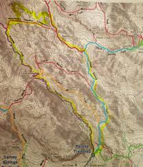 Phoenix Mountain Preserve Map by Weavers Needle Lost Gold Mine And The Haunted Superstition