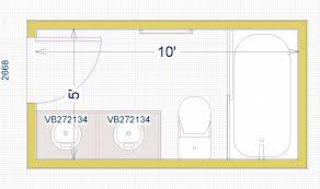 bathroom floor plans 10 x 10 bathroom layout some bathroom design help 5 x 10