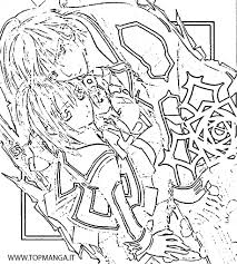 vampire knight kaname coloring pages