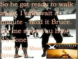Rock And Brick Combinations Victor by Episode 20 Grandmaster Victor Moore Martial Arts Radio
