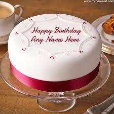 write boy name on latest design birthday cake pics wishes