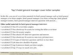 top 5 hotel general manager cover letter samples 1 638 jpg cb u003d1434873980