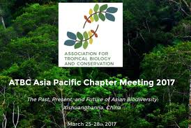 Tropical Plant Biology - atbc asia pacific chapter meeting 2017 tropical biology