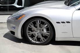 maserati granturismo white black rims 2008 maserati granturismo stock 5895 for sale near redondo beach