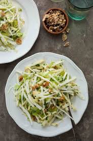 celery root and apple salad gourmande in the kitchen