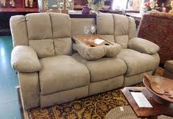 Microfiber Reclining Loveseat With Console Reclining Console Sofa Sofa Nrtradiant
