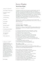 sample php developer resume software development resume example