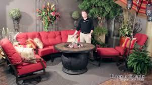 Woodard Patio Furniture - woodard cortland patio furniture overview youtube