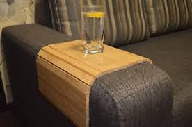 flexible armchair side sofa table couch arm tray over sofa table