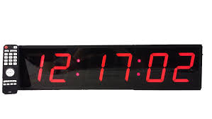 amazon com extra large digital wall clock 4