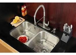 kitchen sink and faucet combo brilliant kraus kitchen combo set stainless steel undermount