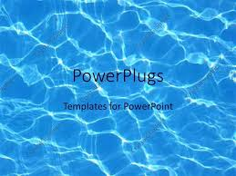templates powerpoint crystalgraphics powerpoint template blue water reflections in pool summer swimming