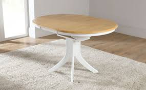 round extendable dining table white round extendable dining