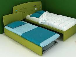 letto estraibile letto con letto estraibile singolo moderno per bambini