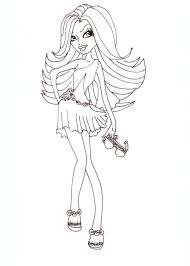 free printable monster high coloring pages spectra fashion 2012