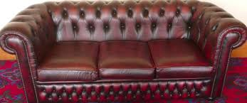 used chesterfield sofa leather chesterfield sofa restoration by bright fresh