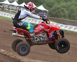 ama atv motocross k u0026n sponsored david haagsma takes personal best pro atv finish at