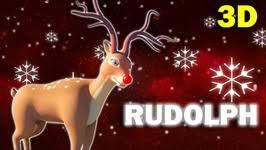 rudolf rednosed reindeer song 3d 3d christmas songs