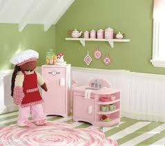 18 inch doll kitchen furniture pottery barn 18 doll kitchen fridge refrigerator sink