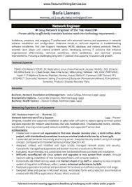 network engineer resume template resume for network engineer l2
