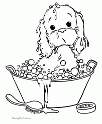 100 puppy coloring pages printable free kitten coloring pages