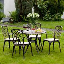 Cast Aluminium Outdoor Furniture by Cast Metal Garden Furniture Aralsa Com