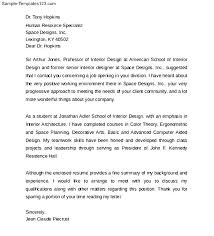 Resume For Interior Design Internship Download Interior Designer Cover Letter Haadyaooverbayresort Com