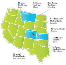 Western Montana Map by Scl Health Locations Scl Health System