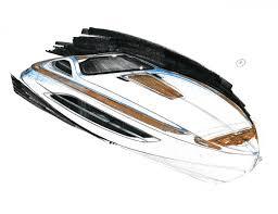 aston martin voyage 55 u2032 boat concept car body design