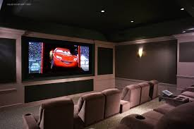 Home Theater Room Design Modern Home Design Small Home Cinema Room