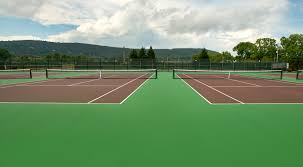 courts and running tracks