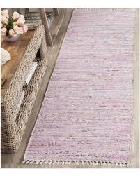 2 X 6 Rug Amazing Deal On Safavieh Hand Woven Rag Rug Light Pink Multi